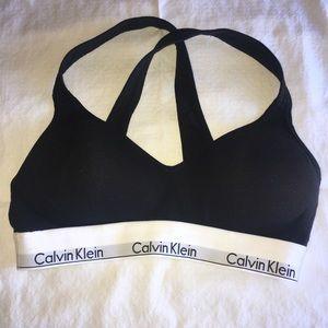 Never worn Calvin Klein sports bra